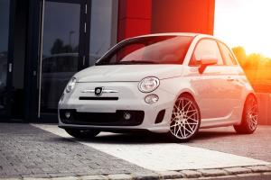 Fiat 500 Abarth by Pogea Racing 2014 года